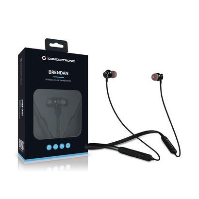 conceptronic-auricular-bt-in-ear-deportivos-negro