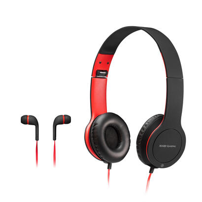 pack-combo-2-en-1-mars-gaming-mhcx-auriculares-con-microfono-in-ear-jack-35mm-auriculares-con-microfono-over-ear-jack-35mm