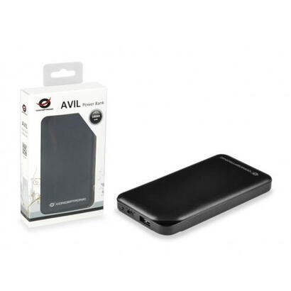 conceptronic-bateria-externa-universal-avil-01b-negra-10000mah