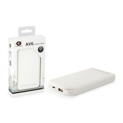 conceptronic-bateria-externa-universal-avil-01w-blanca-10000mah