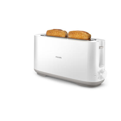 philips-daily-collection-hd2590-tostadora-2-rodaja-1-ranuras-blanco