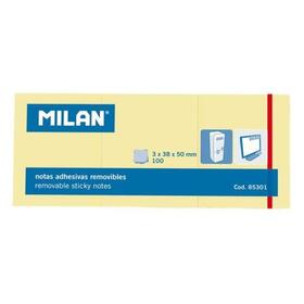 milan-3-blocs-notas-adhesivas-3x100-hojas-38x50mm-amarillo-10u-