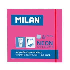 milan-bloc-notas-adhesivas-100-hojas-76x76mm-rosa-neon-10u-