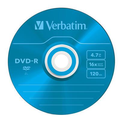 verbatim-dvd-r-47gb-16x-slim-5-advanced-azo-no-imprimible