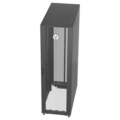 vertiv-vr3300-armario-rack-42u-rack-o-bastidor-independiente-negro-transparente