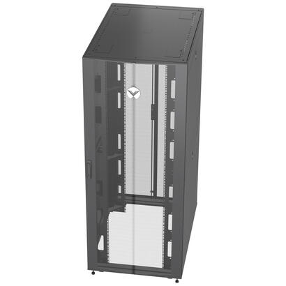 vertiv-vr3350-armario-rack-42u-rack-o-bastidor-independiente-negro-transparente