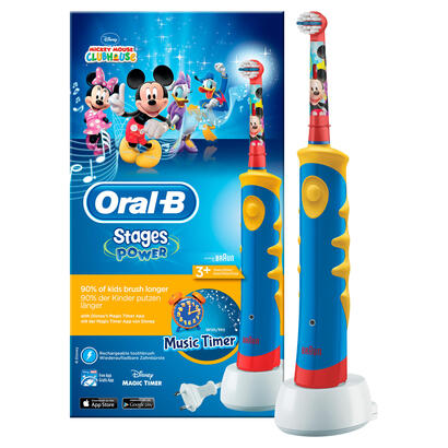 oral-b-stages-power-cepillo-electrico-infantil-micket-con-musica