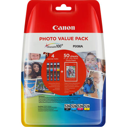 canon-cli-526-cmybk-photo-value-packpaquete-de-49-mlnegro-amarillo-cin-magentaoriginal100-x-150-mm-50-hojas-blsterkit-de-tanque-