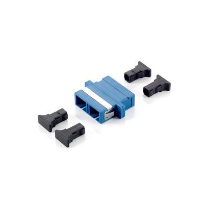 equip-156131-adaptador-de-fibra-optica-sc-azul-12-piezas