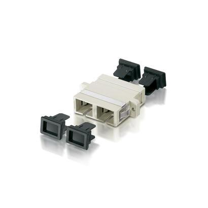 equip-156145-adaptador-de-fibra-optica-sc-beige-12-piezas