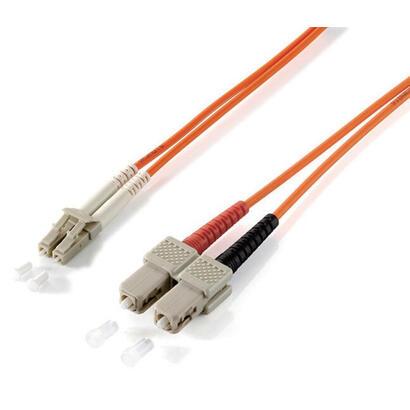 equip-lcs-50125m-50m-cable-de-fibra-optica-5-m-om2-sc-naranja