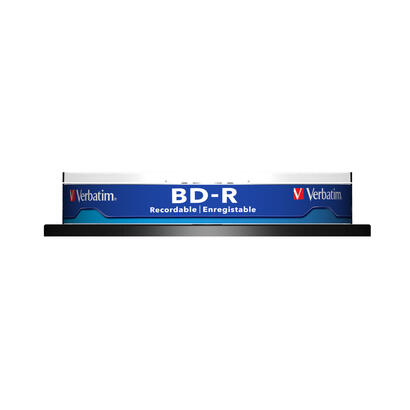 bluray-verbatim-25gb-10pcs-spindel-6x-white-blue-surface
