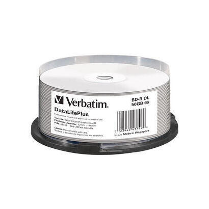 bluray-verbatim-50gb-25pcs-spindel-6x-dl-wide-printable