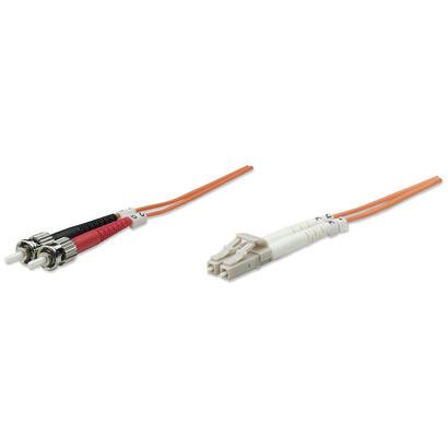 intellinet-10m-lc-st-mm-cable-de-fibra-optica-1-m-om2-naranja