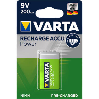 varta-pila-recargable-power-9v-200mah-1st