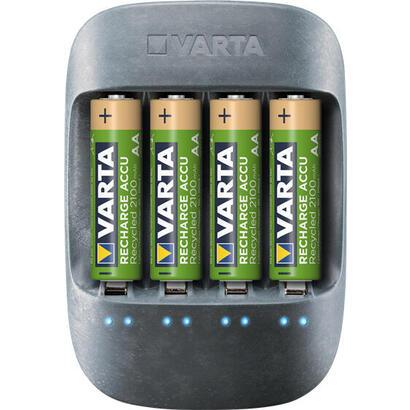 varta-eco-cargador-4-pilas-recargables-aaa-micro-800-mah-57680-101-421