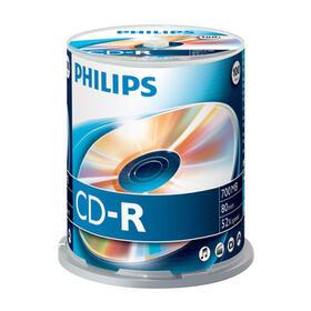 philips-cd-r-700mb-100pcs-spindel-52x