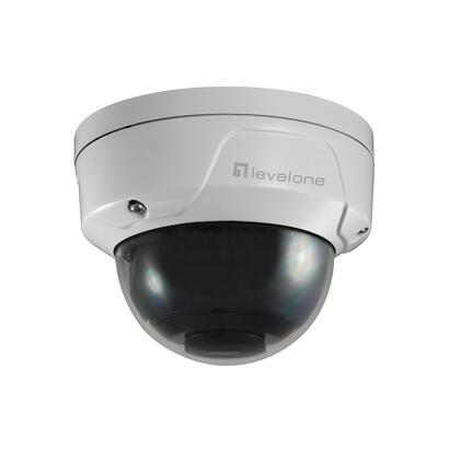 levelone-ipcam-fcs-3090-dome-out-5mp-h265-ir-7w-poe
