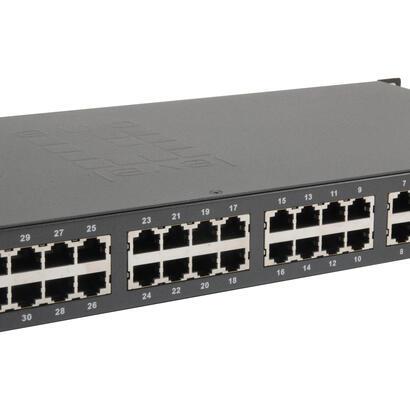 levelone-switch-34x-fe-fgp-3400w380-2xge-19-380w-32xpoe
