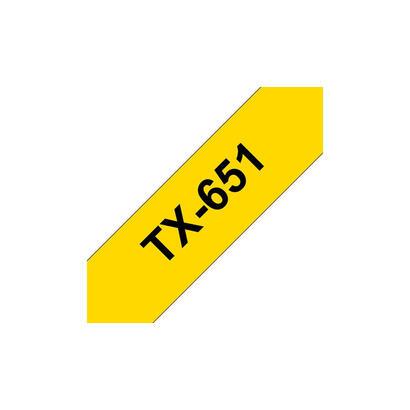 brother-cinta-laminada-amarillonegro-24mm-15m