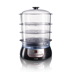 philips-pure-essentials-collection-hd914091-vaporizador-3-cestas-negro-900-w-cocedor-al-vapor-hd914091