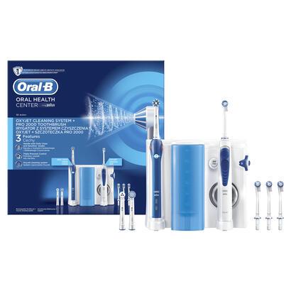 estacion-de-cuidado-bucal-oral-b-pro-2000-irrigador-oxyjet-mango-cepillo-electrico-4-cabezales-oxyjet-3-cabezales-recambio