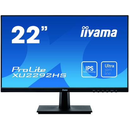 monitor-22-iiyama-xu2292hs-b1-ips-4ms-hdmi-vga-dp-sp