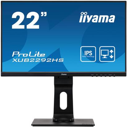 monitor-22-iiyama-xub2292hs-b1-ips-4ms-hdmi-vga-dp-sp