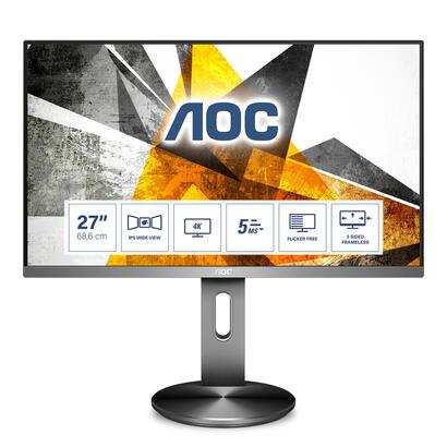 monitor-aoc-27-u2790pqu1609-hdmidpusb-ips-4k-grey