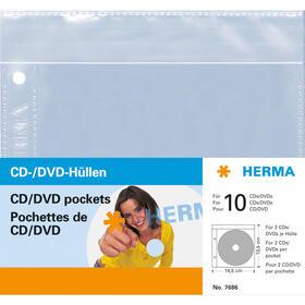 herma-7686-funda-para-discos-opticos-2-discos-transparente-5-st