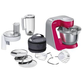 bosch-robot-de-cocina-mum58420-1000w-bol-de-39-litros-corta-raya-amasa-bate-mezcla-incluye-accesorios-y-recetas-plata-rojo-diamo