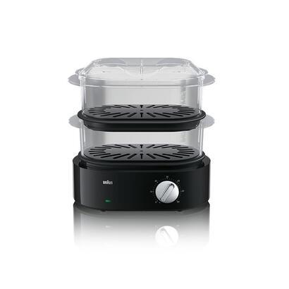 braun-fs-5100-vaporizador-2-cestas-negro-encimera-850-w
