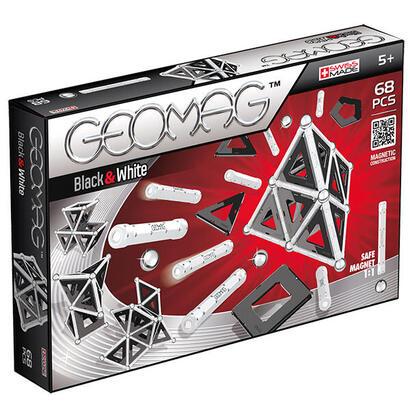 geomag-panels-blackwhite-68-pcs-juguete-de-iman-de-neodimio-68-piezas-multicolor