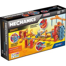 geomag-mechanics-gm774-juguete-de-iman-de-neodimio-243-piezas-azul-naranja-rojo-plata