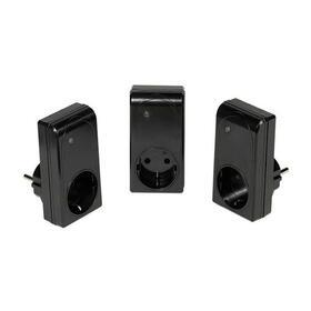 set-3-tomas-de-corriente-vivanco-34435-carga-total-16a-3680w-cobertura-hasta-25m-control-remoto-rf-funcion-de-aprendizaje-negro