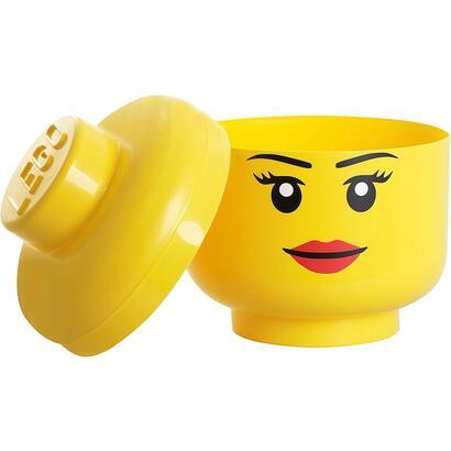 cabeza-grande-lego-nina-almacenaje-pieza