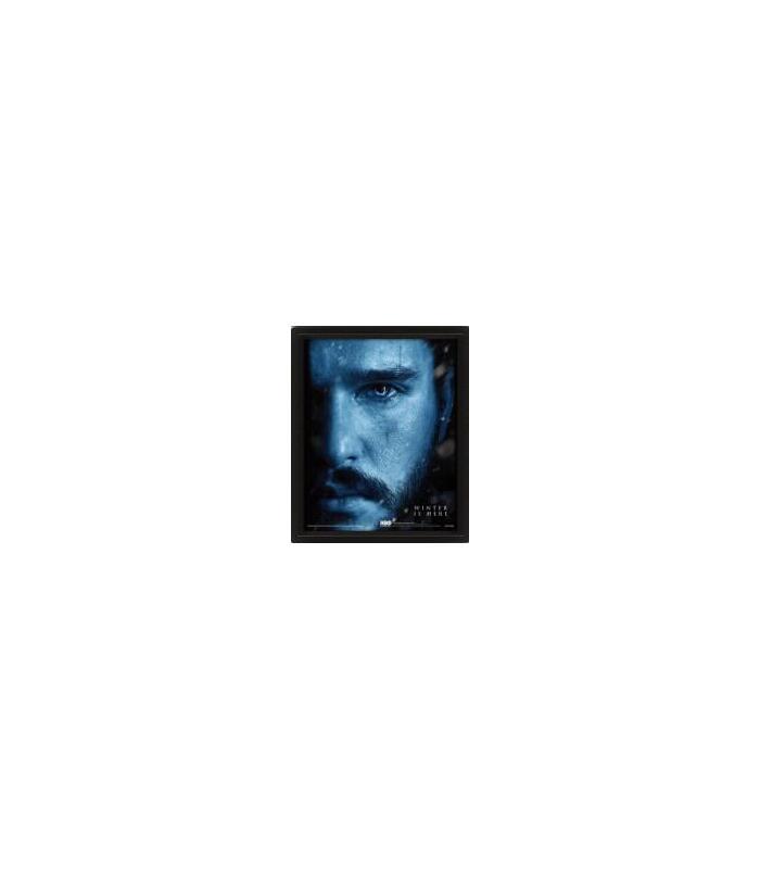 cuadro-3d-john-snow-vs-night-king-juego-de-tronos