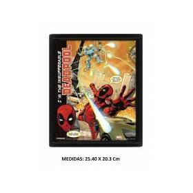 cuadro-3d-deadpool-attack