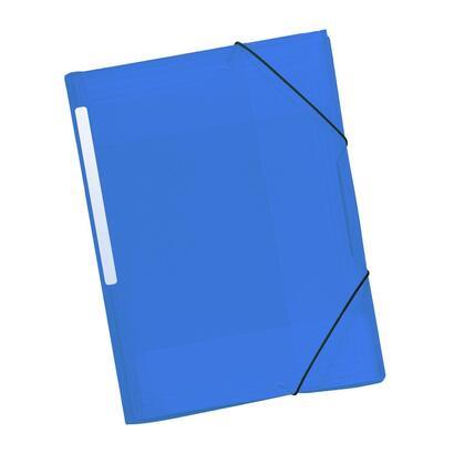 grafoplasa-carpeta-poliplas-translucido-con-cierre-con-gomas-y-3-solapas-azul