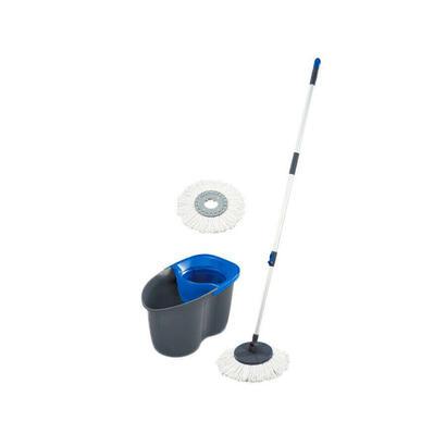 leifheit-kit-fregona-de-suelo-rotacion-disco-mop-pedal-escurridor-fregona-55268