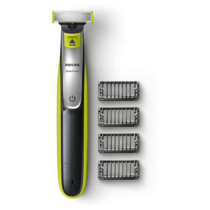 afeitadora-philips-oneblade-qp253020-recortador-de-barba-verde-gris