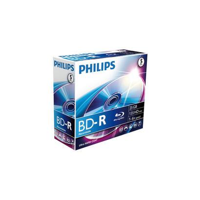 1x5-philips-blu-ray-recordable-25gb-6x-jc
