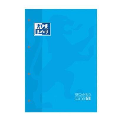 recambio-oxford-classic-color-1-turquesa-cuaderno-a4a4-80-hojas-90-gramos-4-taladros-cuadricula-55-enmarcado