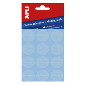 cierres-adhesivos-permanentes-apli-10694-o25mm-10-hojas-formato-redondo-color-transparente