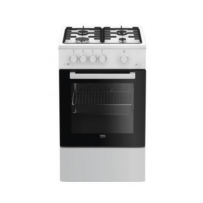 beko-fsg52020fw-cocina-independiente-negro-blanco-encimera-de-gas