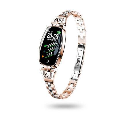 unotec-smartband-5-pulsera-de-actividad-rosa-dorado