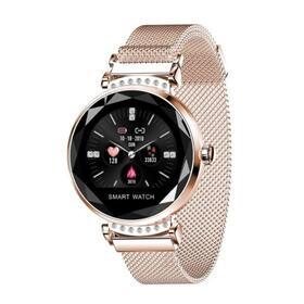reloj-inteligente-innjoo-lady-crystal-gold-registro-distancia-ritmo-cardiaco-monitorizacion-sueno-waterproof