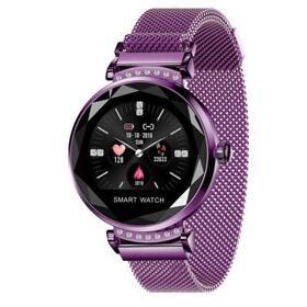 reloj-inteligente-innjoo-lady-crystal-purple-registro-distancia-ritmo-cardiaco-monitorizacion-sueno-waterproof