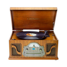 lauson-ivx22-tocadiscos-clasico-de-madera-cd-radio-grabacion-digital-mp3-bluetooth-vinilo