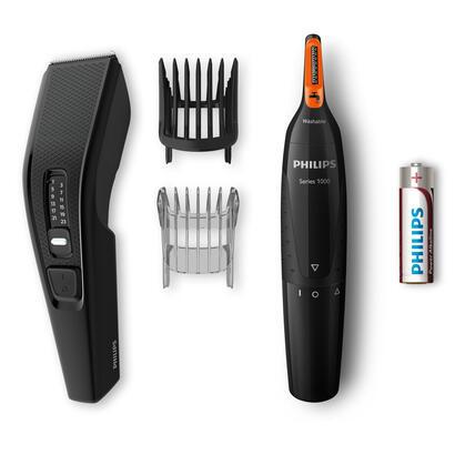 cortapelos-philips-hairclipper-serie-3000-cuchilla-41mm-doble-filo-13-posiciones-de-corte-peine-guia-pelo-barba
